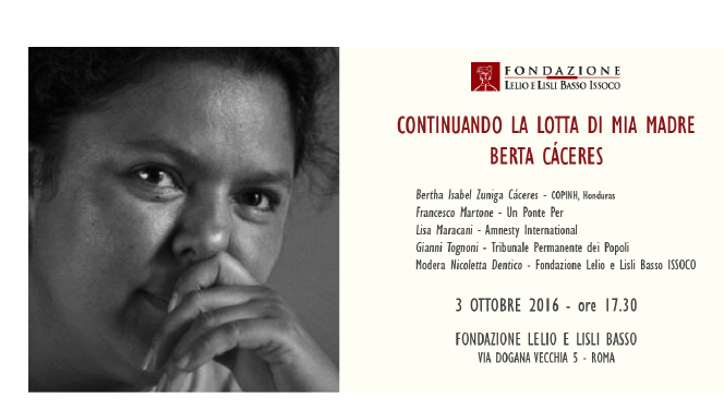 bertacaceres-3-ottobre-roma-eventi-coalizione-clima